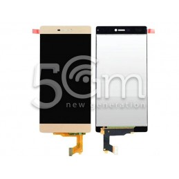 Display Touch Gold Huawei P8 No Frame