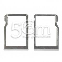 Supporto Memory Card White HTC One Mini 2