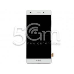 Display Touch Bianco + Frame Huawei P8 Lite