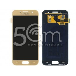 Display Touch Gold Samsung SM-A320F A3 2017