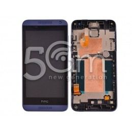 Display Touch Nero + Frame HTC Desire 610 x Versione Blu