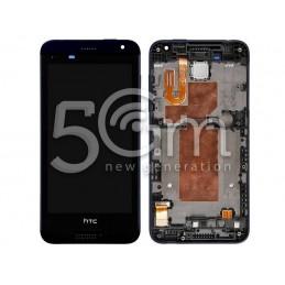 Display Touch Nero + Frame HTC Desire 610 X Versione Nera
