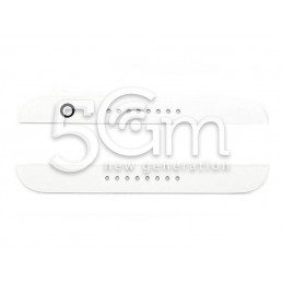 Coppia Adesivo Bianco Copertura LCD HTC Desire 820
