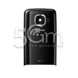 Retro Cover Nero Nokia 311 Asha