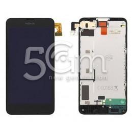 Display Touch Nero + Frame Nokia 630-635 Lumia