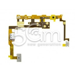 Flat Cable Connettore + Microfono Lg P720