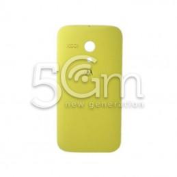 Retro Cover Giallo Motorola Moto G