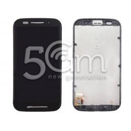 Display Touch Nero + Frame Motorola Moto E