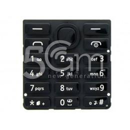 Tastiera Nera Nokia 206