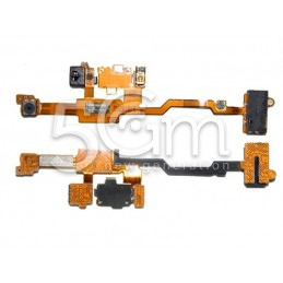 Jack + Fotocamera Flat Cable Nokia X6