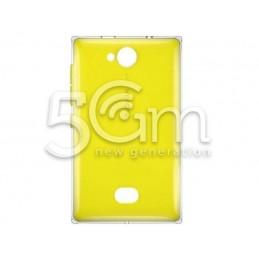 Retro Cover Giallo Nokia 503 Asha