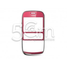 Front Cover Plum Red Nokia 302 Asha