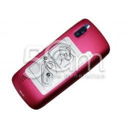 Retro Cover Pink Nokia 300 Asha