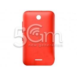 Retro Cover Bright Red Nokia 230 Asha