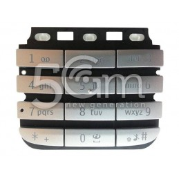 Tastiera Silver Nokia 300 Asha