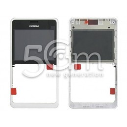 Front Cover Bianco Nokia 210 Asha Dual