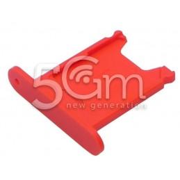 Supporto Sim Card Rosso Nokia 920 Lumia
