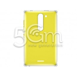 Retro Cover Giallo Nokia 502