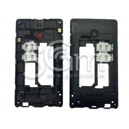 Middle Frame Nero Nokia 435 Lumia