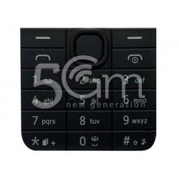 Tastiera Nera Nokia 208 Dual Sim