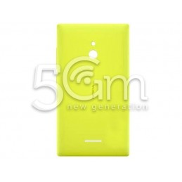 Retro Cover Giallo Nokia XL Dual Sim