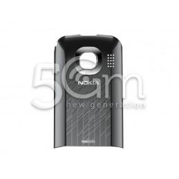 Retro Cover Grigio Silver + Vetrino Camera Nokia C2-06