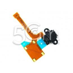 Jack Audio Nero Flat Cable Nokia 640 XL Lumia