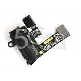 Jack Audio Nero Flat Cable Asus ZenFone 3 ZE520KL