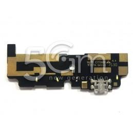 Connettore Di Ricarica + Small Board Vodafone Smart Prime 6
