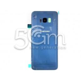 Retro Cover Blu Samsung SM-G955 S8 Plus
