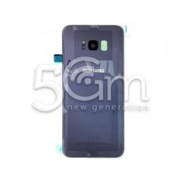 Retro Cover Viola Samsung SM-G955 S8 Plus