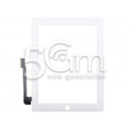 Touch Screen Bianco iPad 3 No Tasto Home