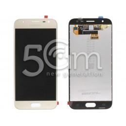 Display Touch Gold Samsung SM-J330FN J3 2017