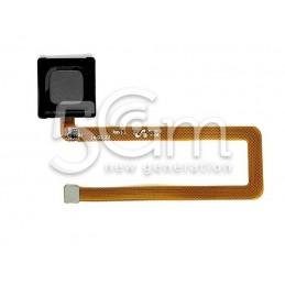 Fingerprint Black Flat Cable Huawei Mate 7