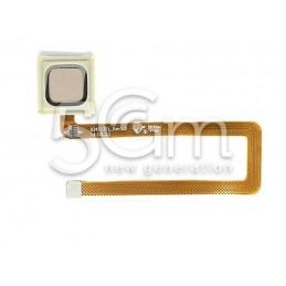 Fingerprint Gold Flat Cable Huawei Mate 7