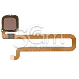 Fingerprint Gold Flat Cable Huawei Mate 8