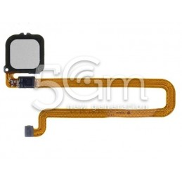 Fingerprint Silver Flat Cable Huawei Mate 8