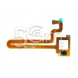 Fingerprint White Flat Cable Huawei Mate S