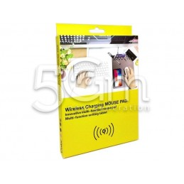 Wireless Charging Mouse Pad & All Smartphone With QI - NFC