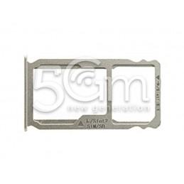 Supporto Sim card/SD Card Bianco Huawei Mate S