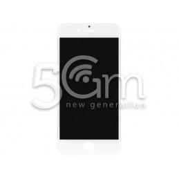 Vetro Bianco + Frame Ultra Resistente IPhone 8