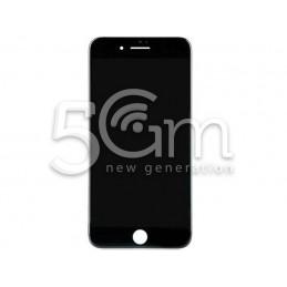 Vetro Nero + Frame Ultra Resistente IPhone 8 Plus No Logo