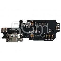Connettore Di Ricarica + Small Board Asus ZenFone 3 Max ZC553KL