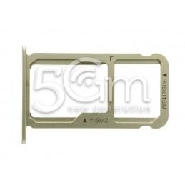 Supporto Sim card/SD Card Gold Honor 8