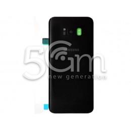 Retro Cover Black Samsung SM-G955 S8 Edge