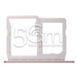 Supporto Sim Card/SD Card Pink LG G5 H850