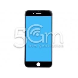 Vetro Nero + Frame Ultra Resistente IPhone 7