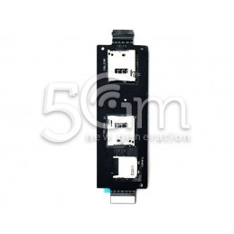 Lettore Sim Card Flat Cable Completo Asus ZenFone 2 ZE550ML ZE551ML