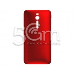 Retro Cover Rosso Asus Zenfone 2 ZE550ML No Logo