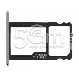 Sim Card /SD Card Tray Holder Black Honor 7